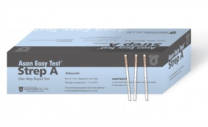 Asan Easy Test Strep A Strip