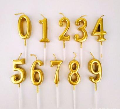 เทียนตัวเลข