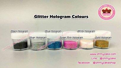 กากเพชรแบบทานได้ แบรนด์ Glitter EDICOR