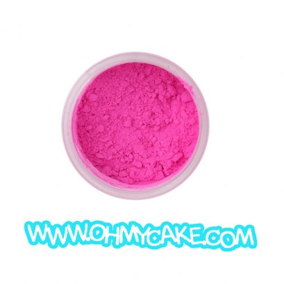 สีชมพู Powder dust Hot Magenta