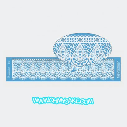 Lace Mold 11
