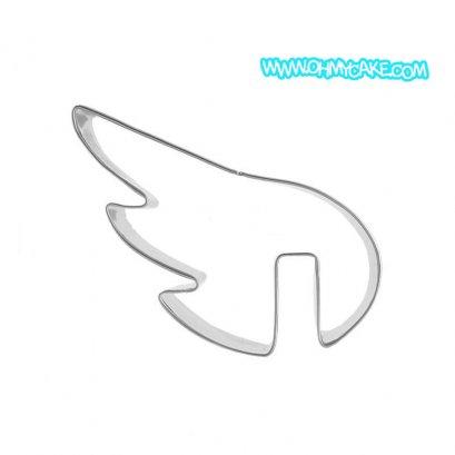 ตัวตัดสแตนเลสรูปปีกนางฟ้า
