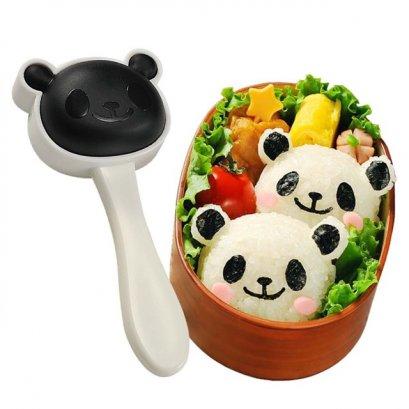 แม่พิมพ์กดข้าวปั้น หมีแพนด้า