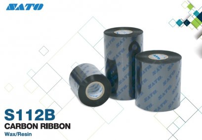 Ribbon Wax-Resin Sato S112B