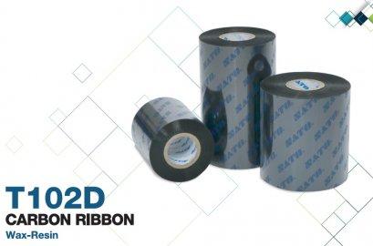 Ribbon Barcode Wax-Resin Sato T102D (ประเทศญี่ปุ่น)