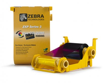 Ribbon Zebra ZXP Series-3 YMCKO 280 Images