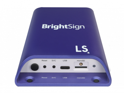 BrightSign LS424  LS SERIES- ENTRY-LEVEL MEDIA PLAYER