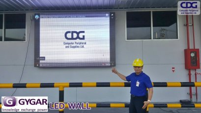 Installation results Video Wall (LED Wall)