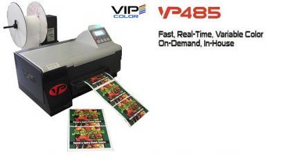VIP Colour Label Inkjet Printer