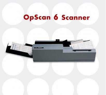 เครื่องตรวจข้อสอบ OMR ยี่ห้อ SCANTRON รุ่น OPSCAN 6