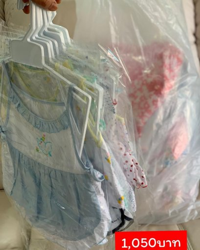 ผ้าฝ้ายเด็ก0-9เดือน 30ชุดๆละ35บาท