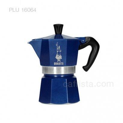 หม้อต้มกาแฟ โมก้าพอท BIALETTI Moka Express Blue Marocco (ไซส์ 3-cups)
