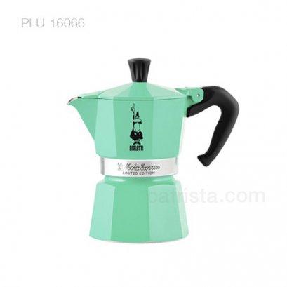 หม้อต้มกาแฟ โมก้าพอท BIALETTI Moka Express Ice (ไซส์ 3-cups)