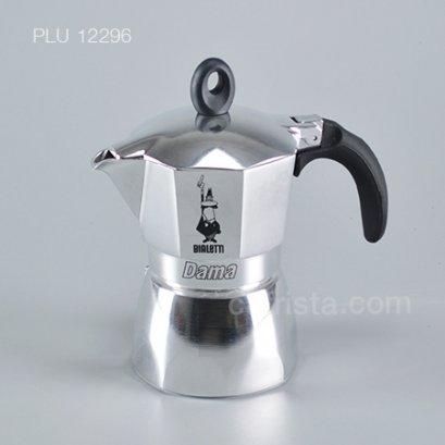 """หม้อต้มกาแฟ โมก้าพอท BIALETTI """"Dama"""" Stovetop Moka Pot (ไซส์ 3-cup)"""