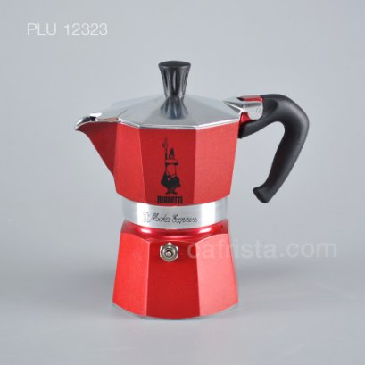 BIALETTI Moka Express emotion red 3 cups