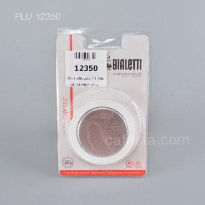 อะไหล่แผ่นกรองกาแฟ BIALETTI Coffee Filter & Silicone Gasket (9-cups)
