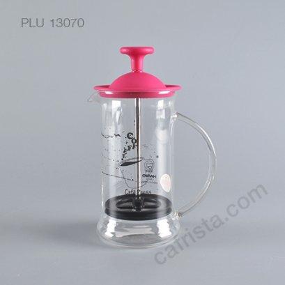 """เครื่องชงกาแฟ HARIO """"Cafe Press - Slim S"""" French Press (สี Pink)"""