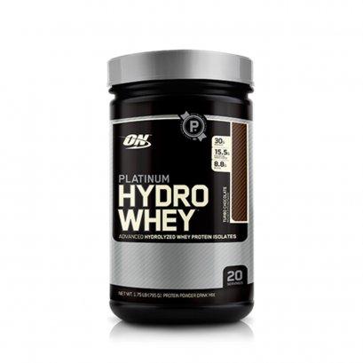 OPTIMUM PLATINUM HYDROWHEY  100% Whey Protein Hydrolyzed - 1.75 Lbs Vanilla Flavor
