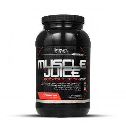 ULTIMATE Nutrition Muscle Juice Revolution 2600 - Mass Gainer 4.7 Lbs.