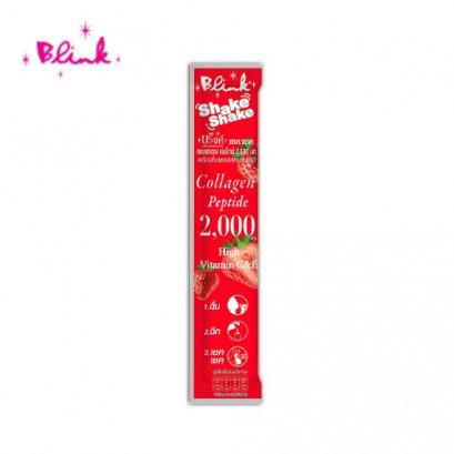 บริ๊งค์ เชค เชค คอลลาเจน 2,000 ชนิดผง 30 ซอง ลด 30%