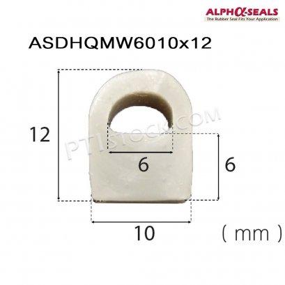 ซีลยางตู้อบ D-Hollow ASDHQMW6010x12