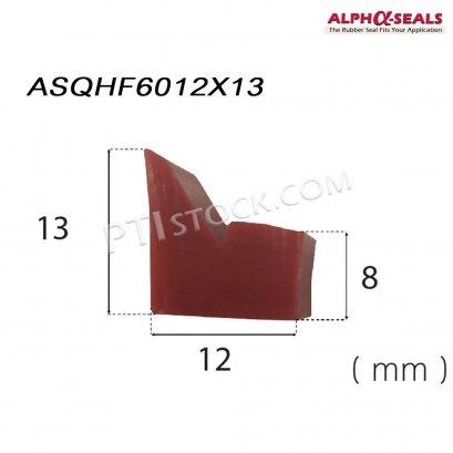 ซีลยางโปรไฟล์หน้าตัดพิเศษ ASQHF6012X13