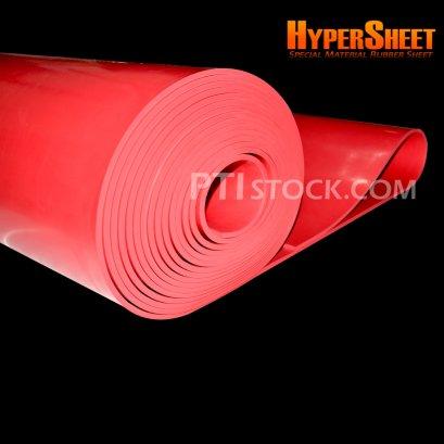 แผ่นยางยิงทรายสีแดง 6 mm