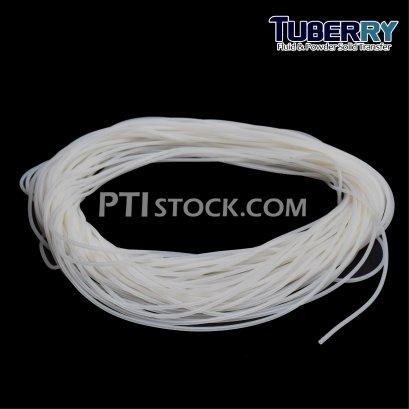 ท่อยางซิลิโคนสีขาวขุ่น I.D1 X O.D 4 mm