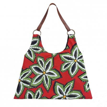 BAG21023.001/กระเป๋าผ้าทรงสามเหลี่ยม /กระเป๋าผ้า / กระเป๋าแคนวาส / ฟรีค่าจัดส่ง