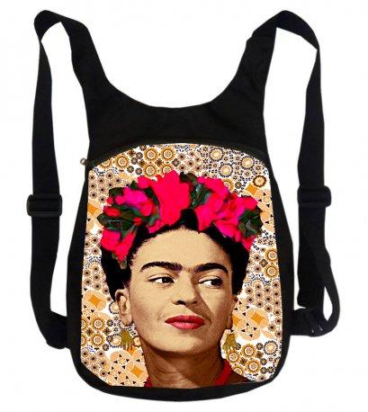 BP19001-014 / Frida Backpacks / Flat Backpack / Daily backpack / ฺBackpacks / Canvas Backpacks