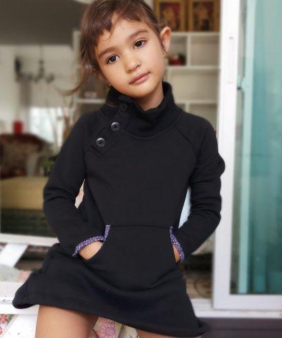 Kids Winter Dress/ Kids Dress / FREE SHIPPING