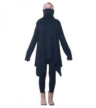 Fall-Winter Women's Knit Sweater Turtleneck / Long Sleeve Top