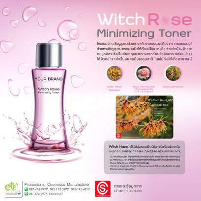 Witch Rose Minimizing Toner