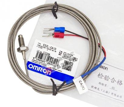 Omron E52L-CA1D / เทอร์โมคัปเปิลแบบหัวสกรู M6 สาย 2 เมตร K-type Thermocouple / ราคา