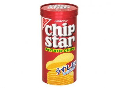YAMAZAKI BISCUITS CHIP STAR POTATO CHIPS MILD SALT  75  g.