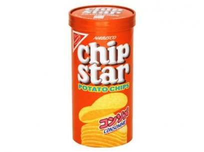 YAMAZAKI BISCUITS CHIP STAR POTATO CHIPS CONSOMME FLAVOR  78  g.
