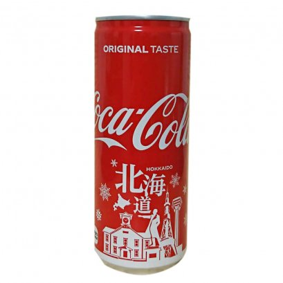 Coca-cola Japan 150th Anniversary Of Hokkaido Can 250ml (1 pcs.)