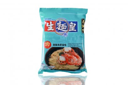 SAUTAO NOODLE KING-THIN PEPPER SEAFOOD SOUP FLAVORED 70 g.