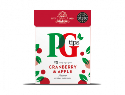 PYRAMID PG TIPS CRANBERRY & APPLE