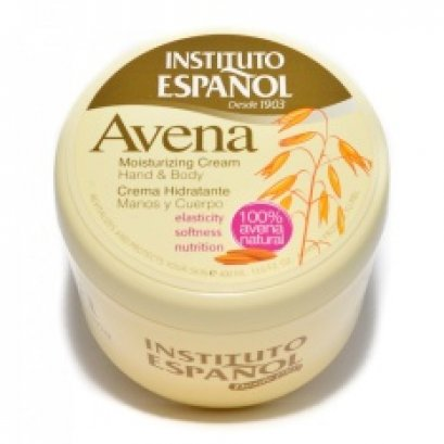 INSTITUTO ESPANOL AVENA OATS MOISTURIAING CREAM HAND & BODY