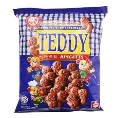 TEDDY BISCUITS CHOCOLATE BISKUT