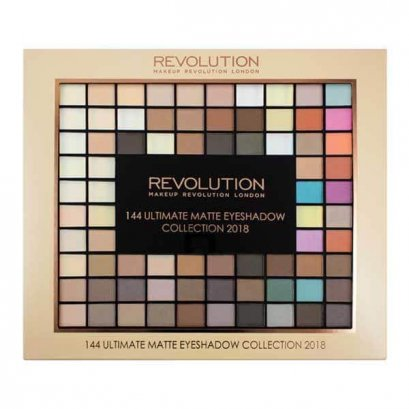 Makeup Revolution Ultimate 144 Matte Eyeshadow Collection 2018
