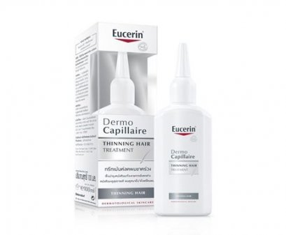 57b8f85ff8 Eucerin Dermo Capillaire Re-Vitalizing Scalp Treatment Thinning Hair 100 ml