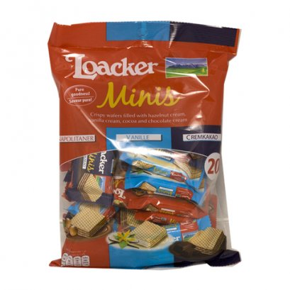 LOACKER MINIS ASSORTED