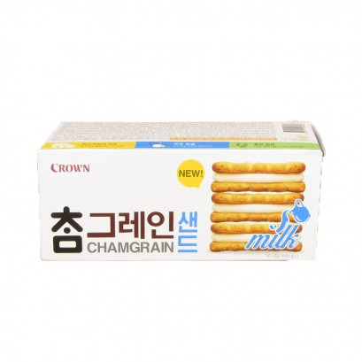CROWN sandwich cracker with milk cream 64 g.