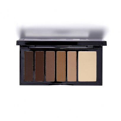 Kiss New York Professional Hexa Eyeshadow Palette #KESP 01 Matte Nude