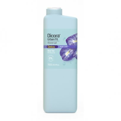 DICORA SHOWER GEL DETOX BLUE TEA 750 ML.