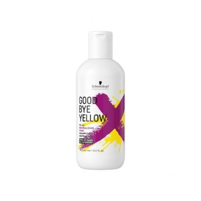 Schwarzkopf Goodbye Yellow Neutralizing Wash Shampoo 300 ml.