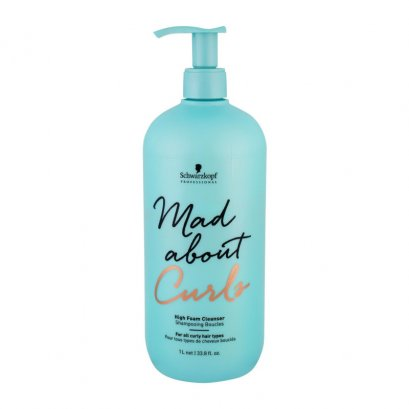 SCHWARZKOPF PROFESSIONAL MAD ABOUT CURLS HIGH FOAM CLEANSER 1000 ml.