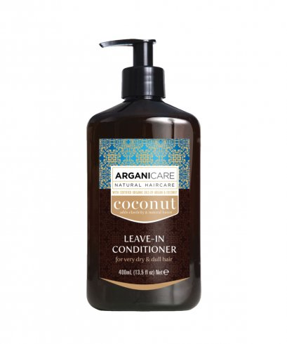 Arganicare Coconut Leave-in Conditioner For Dry & Dull Hair 400 ml.